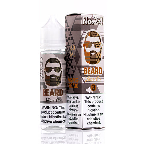 No 24 E-Juice Beard