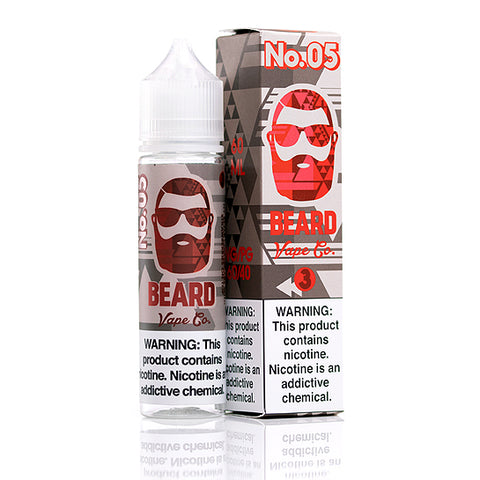 No. 5 - Beard Vape Co. E-Juice (60 ml)