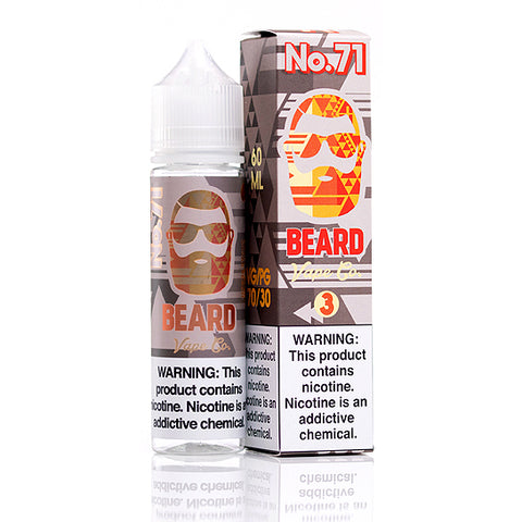 No. 71 - Beard Vape Co. E-Juice (60 ml)