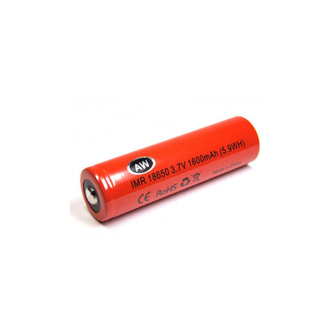 AW™ 18650 IMR 1600mAh 24Amp Battery