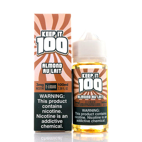 Almond Au Lait (Nilla Almond) - Keep It 100 E-Juice