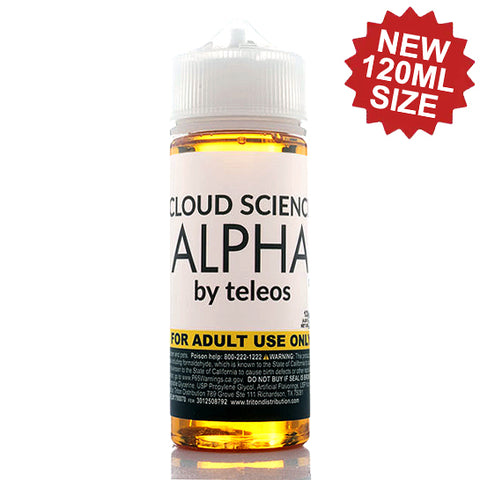Alpha - Cloud Science E-Juice (120 ml)