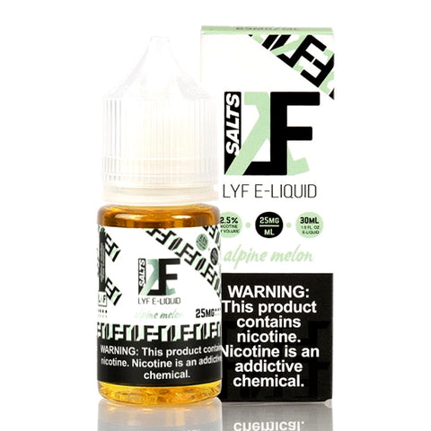 Alpine Melon Salt - LYF E-Juice [Nic Salt Version]
