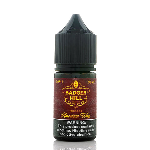 American Way Salt - Badger Hill Reserve E-Juice
