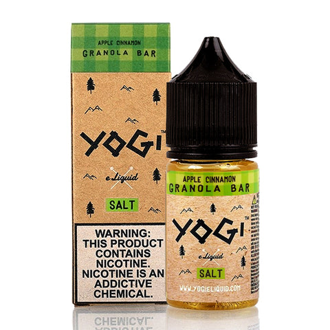 Apple Cinnamon Granola Bar Yogi Salt E-Juice