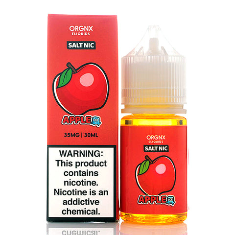 Apple Ice Salt ORGNX E-Juice