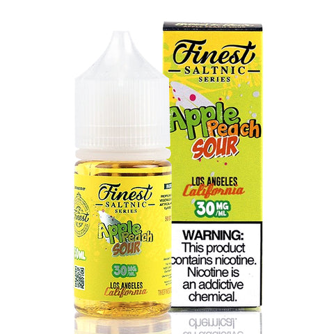Apple Peach Sour Salt- The Finest E-Juice [Nic Salt Version]
