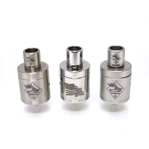 Genuine Tugboat™ v2 RDA by Flawless - Rebuildable Atomizer