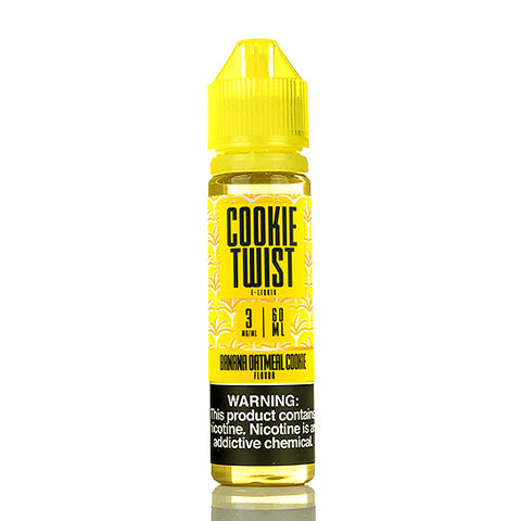 Banana Oatmeal Cookie - Cookie Twist E-Juice (60 ml)