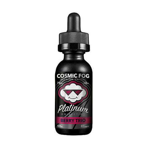 Berry Trio - Cosmic Fog Platinum Collection E-Liquid (60ml)