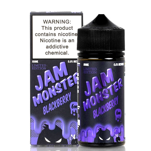 Blackberry Jam - Jam Monster E-Juice (100 ml)