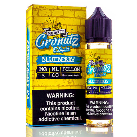 Blueberry - Cronutz E-Juice (60 ml)