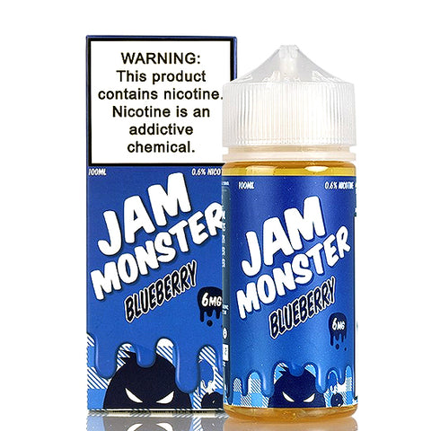 Blueberry Jam - Jam Monster E-Juice (100 ml)