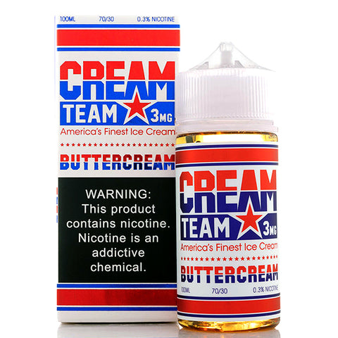 Buttercream Cream Team E-Juice