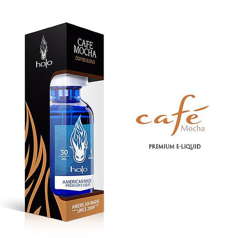 Cafe Mocha - Halo E-Liquid