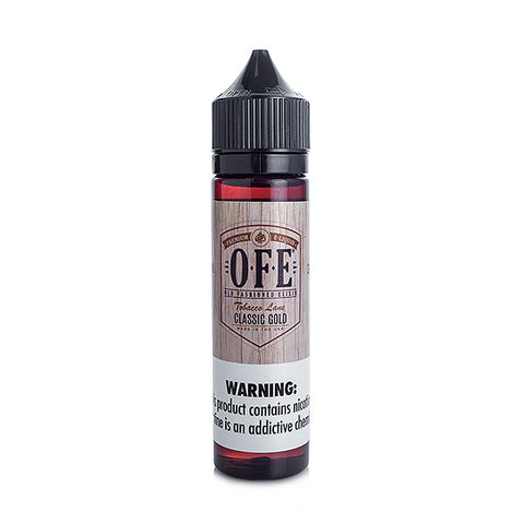 Classic Gold - Old Fashioned Elixir (OFE) E-Juice (60 ml)