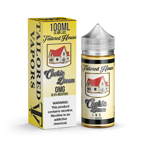 Cookie Dream - Tailored House E-Juice (100 ml)