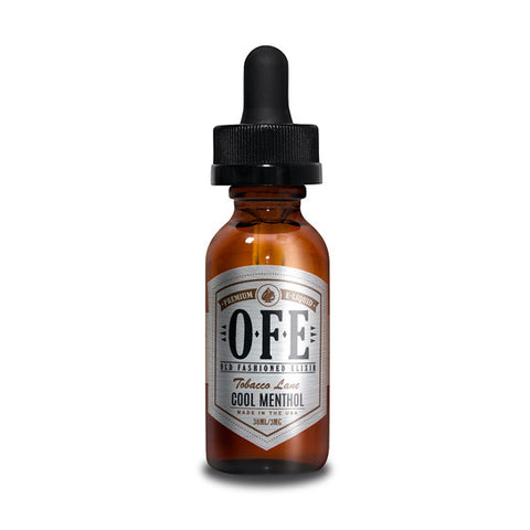 Cool Menthol - Old Fashioned Elixir (OFE) E-Juice