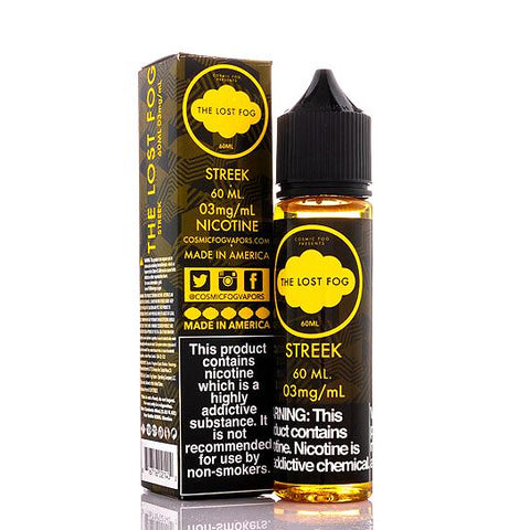 Streek - The Lost Fog Collection E-Juice (60 ml)