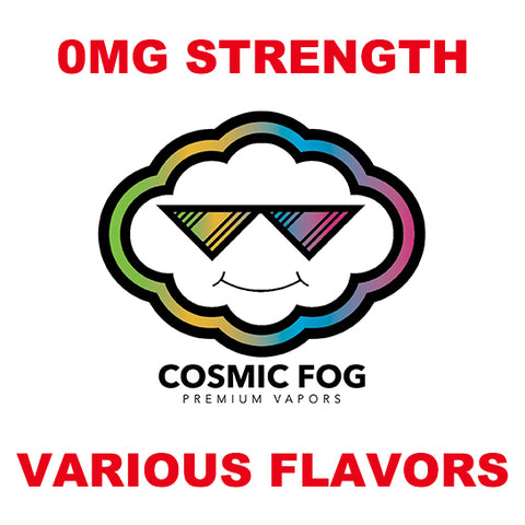 Cosmic Fog 0mg E-Juice - Various Flavors