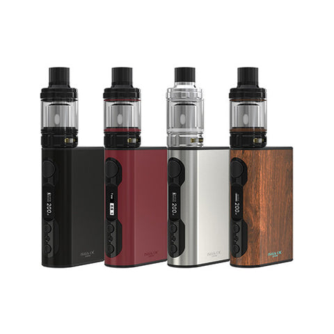 Genuine Eleaf™ iSmoka iStick QC 200W Temp Control Full Kit (w/ Melo 300 Tank)