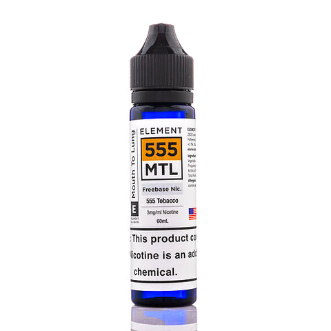 555 Tobacco - Element E-Juice (60 ml)