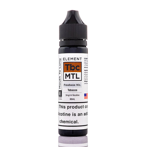 Element Traditional Tobacco E-Liquid