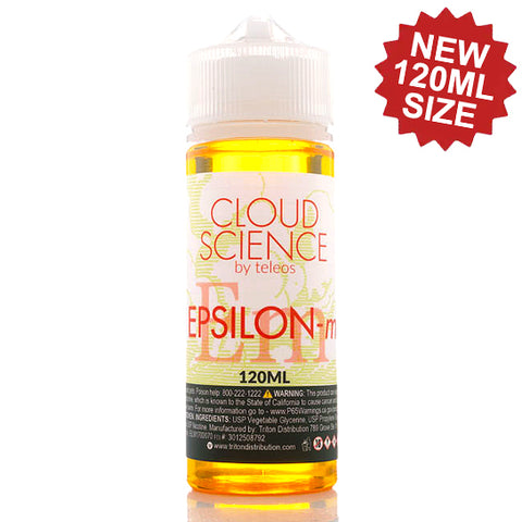 Epsilon-M - Cloud Science E-Juice (120 ml)