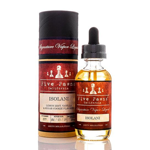 Five Pawns Isolani E-Liquid
