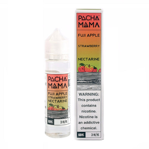 Fuji Apple Strawberry Nectarine - Pachamama E-Juice (60 ml)