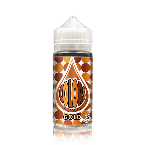 Gold E-Juice Time Bomb Colors Edition