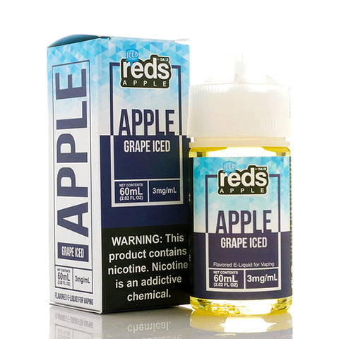 Reds Grape Iced - Reds E-Juice (60 ml)