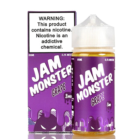 Grape Jam - Jam Monster E-Juice (100 ml)