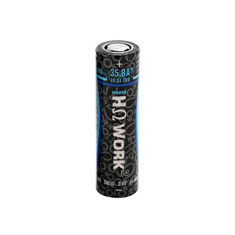 Hohm Tech™ Hohm Work 18650 INR 2531mAh 35.8A Flat Top Battery