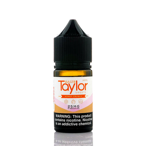 Honey Crunch Salt Taylor Flavors E-Juice