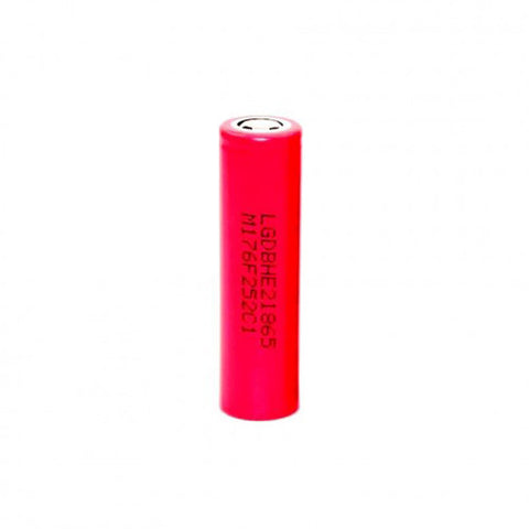LG™ 18650 IMR 2500mAh 35A Flat Top Battery - HE2