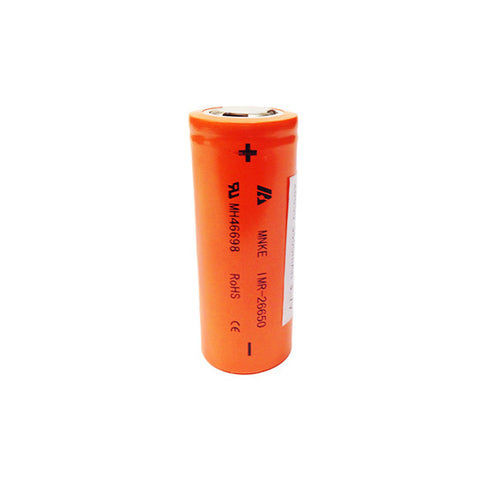 MNKE 26650 IMR 3500mAh Flat Top Battery