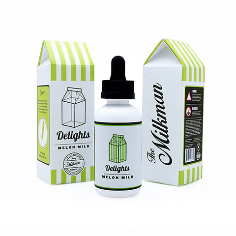Melon Milk - The Milkman Delights E-Juice (60ml)