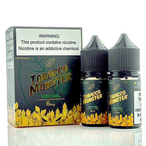 Menthol - Tobacco Monster E-Juice (60 ml)