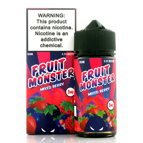 Mixed Berry - Fruit Monster E-Juice (100 ml)