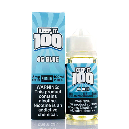 OG Blue (Blue Slushie) - Keep It 100 E-Juice
