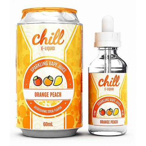 Orange Peach - Chill E-Juice (60 ml)