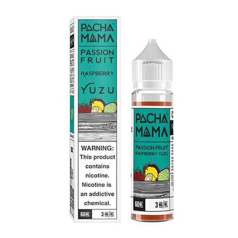 Passion Fruit Raspberry Yuzu E-Juice Pachamama