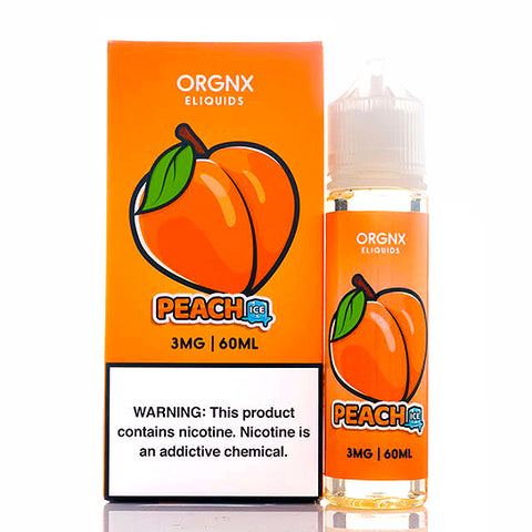 Peach Ice - ORGNX E-Juice (60 ml)