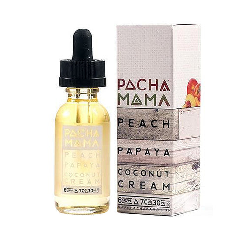 Peach Papaya Coconut Cream - Pachamama E-Juice (60 ml)