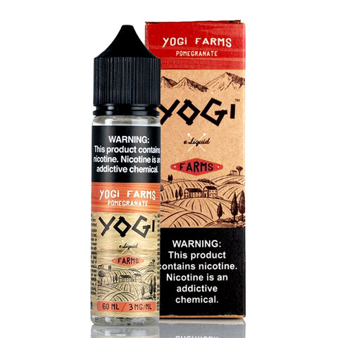 Pomegranate - Yogi Farms E-Juice (60 ml)