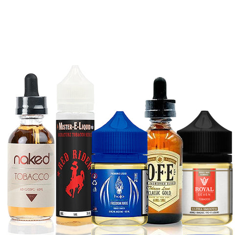 best-tobacco-e-juice-sample-pack