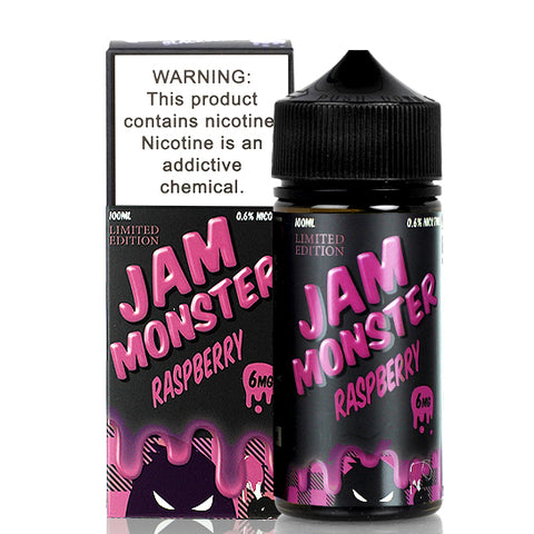 Raspberry Jam - Jam Monster E-Juice (100 ml)