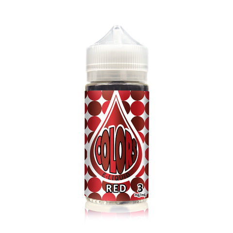 Red - Time Bomb Vapors Colors Edition E-Juice (100 ml)