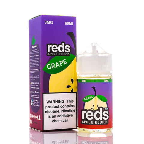 Reds Grape E-Juice by 7 Daze (60ml)